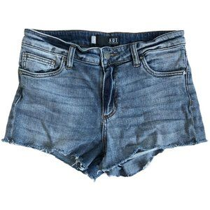 Kut from the Kloth High Rise Cut-Off Jean Shorts 8